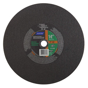 Norton Masonry Cut-Off Wheel, 14 in. x 1/8 in. x 1 in. 5 pk.