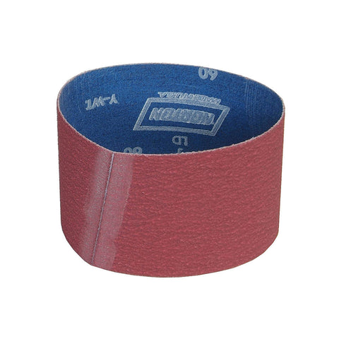 "Norton Sanding Belt, 15-1/2"" Length, 3-1/2"" Width, Ceramic, 36 Grit, Extra Coarse, Coated, R981 SG, 10 pk."