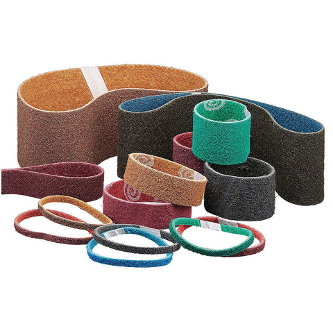 "Norton Sanding Belt, 20-1/2"" Length, 3/4"" Width, Aluminum Oxide, 360 Grit, Very Fine, Non-Woven, Rapid Prep, 12 pk.Liquid error (line 13): comparison of String with 0 failed"