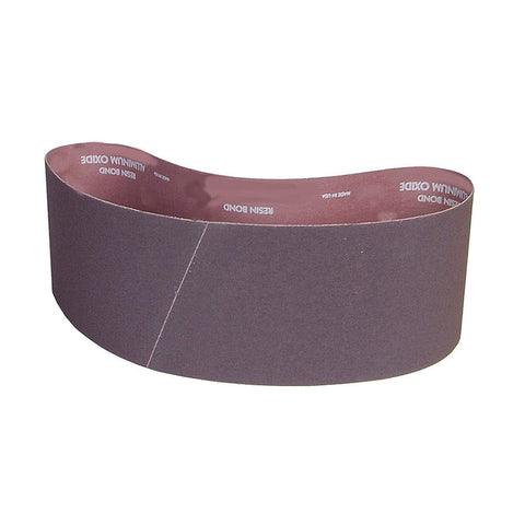 "Norton Sanding Belt, 36"" Length, 4"" Width, Aluminum Oxide, 240 Grit, Very Fine, Coated, R228 Metalite, 10 pk."