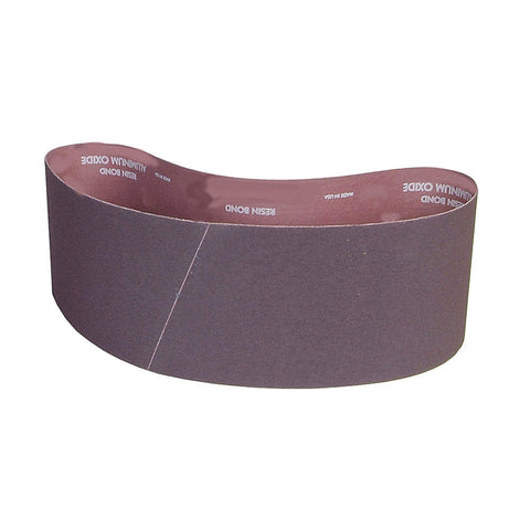 "Norton Sanding Belt, 60"" Length, 4"" Width, Aluminum Oxide, 40 Grit, Coarse, Coated, R228 Metalite , 10 pk."