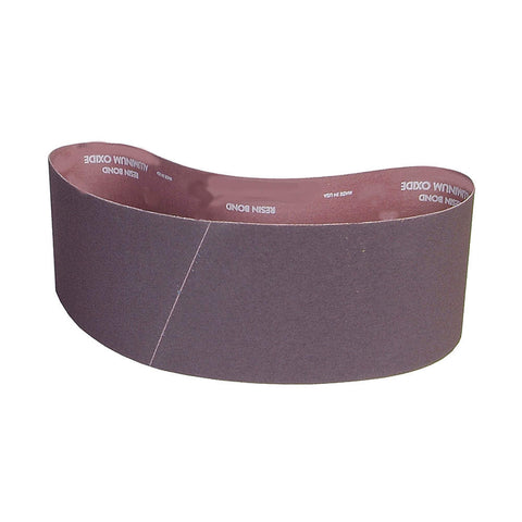 "Norton Sanding Belt, 60"" Length, 4"" Width, Aluminum Oxide, 60 Grit, Medium, Coated, R228 Metalite 10 pk."