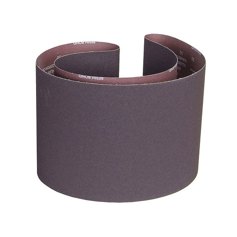 "Norton Sanding Belt, 70"" Length, 10"" Width, Aluminum Oxide, 80 Grit, Medium, Coated, R228 Metalite, 10 pk."