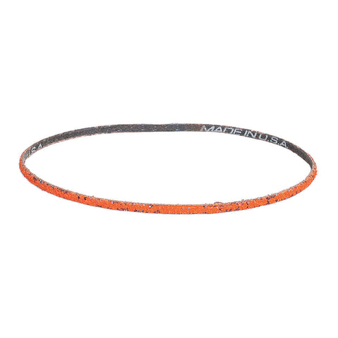 "Norton Sanding Belt, 72"" Length, 2"" Width, Ceramic, 50 Grit, Coarse, Coated, R980P Blaze, 10 pk."