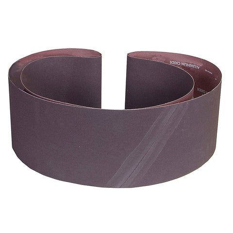 "Norton Sanding Belt, 89"" Length, 6"" Width, Aluminum Oxide, 100 Grit, Fine, Coated, R215 Metalite, 10 pk.Liquid error (line 13): comparison of String with 0 failed"