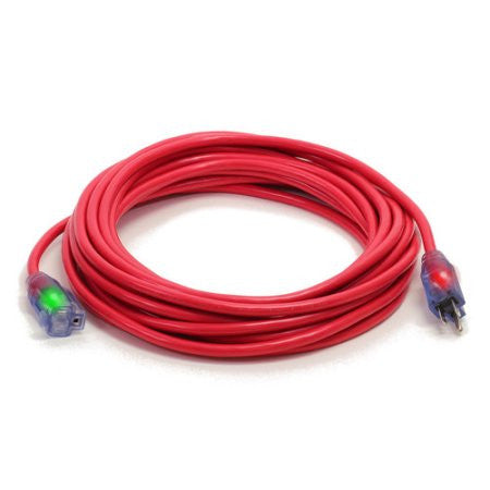 Century Wire Pro Glo 50 ft. Extension Cord (Red)