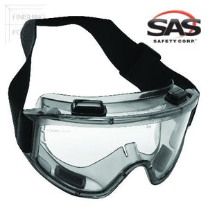 SAS Safety Deluxe Overspray Goggles