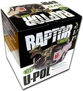 U-Pol Raptor Tintable NR Truck Bed Liner Kit, 4 Liter