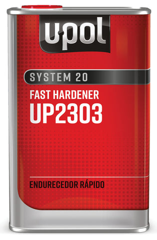 U-Pol System 20 National Rule Fast Hardener, 1 Liter