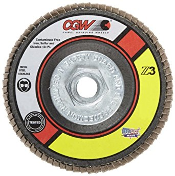 CGW Z3 Regular Disc, Type 29, 60 Grit, 4 1/2 in. x 7/8 in. 5 pk.