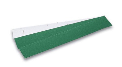 "Mercer 2-3/4"" x 17-1/2"" Premium Green Aluminum Oxide Long Board Sheets, 120 Grit, 50 pk."