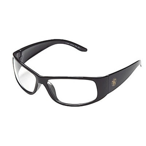 Smith & Wesson Elite Safety Glasses with Black Frame and Clear Anti-Fog Lens