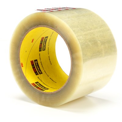 3M™ Scotch® Box Sealing Tape 373 Tan, 72 mm x 50 m