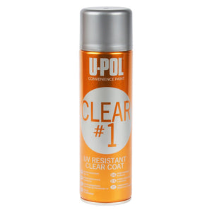 U-Pol Clear #1 UV Resistant Clear Coat, 450ml