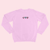LOVEHEARTS- Organic Embroidered Sweater
