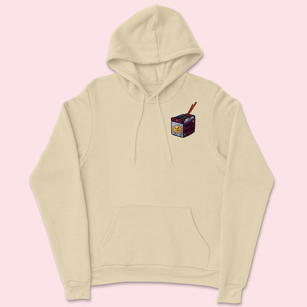 SEND NOODS- Organic Embroidered Unisex Hoodie