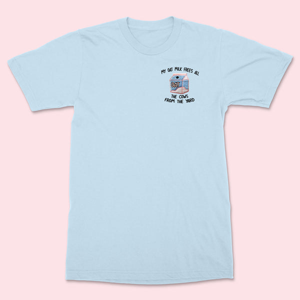 My Oat Milk- Embroidered Unisex T-Shirt