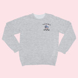 My Oat Milk- Embroidered Unisex Sweatshirt