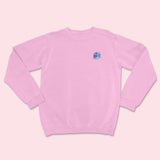 Oat Milk Carton- Embroidered Unisex Sweatshirt