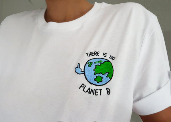 PLANET B- Unisex Embroidered Shirt
