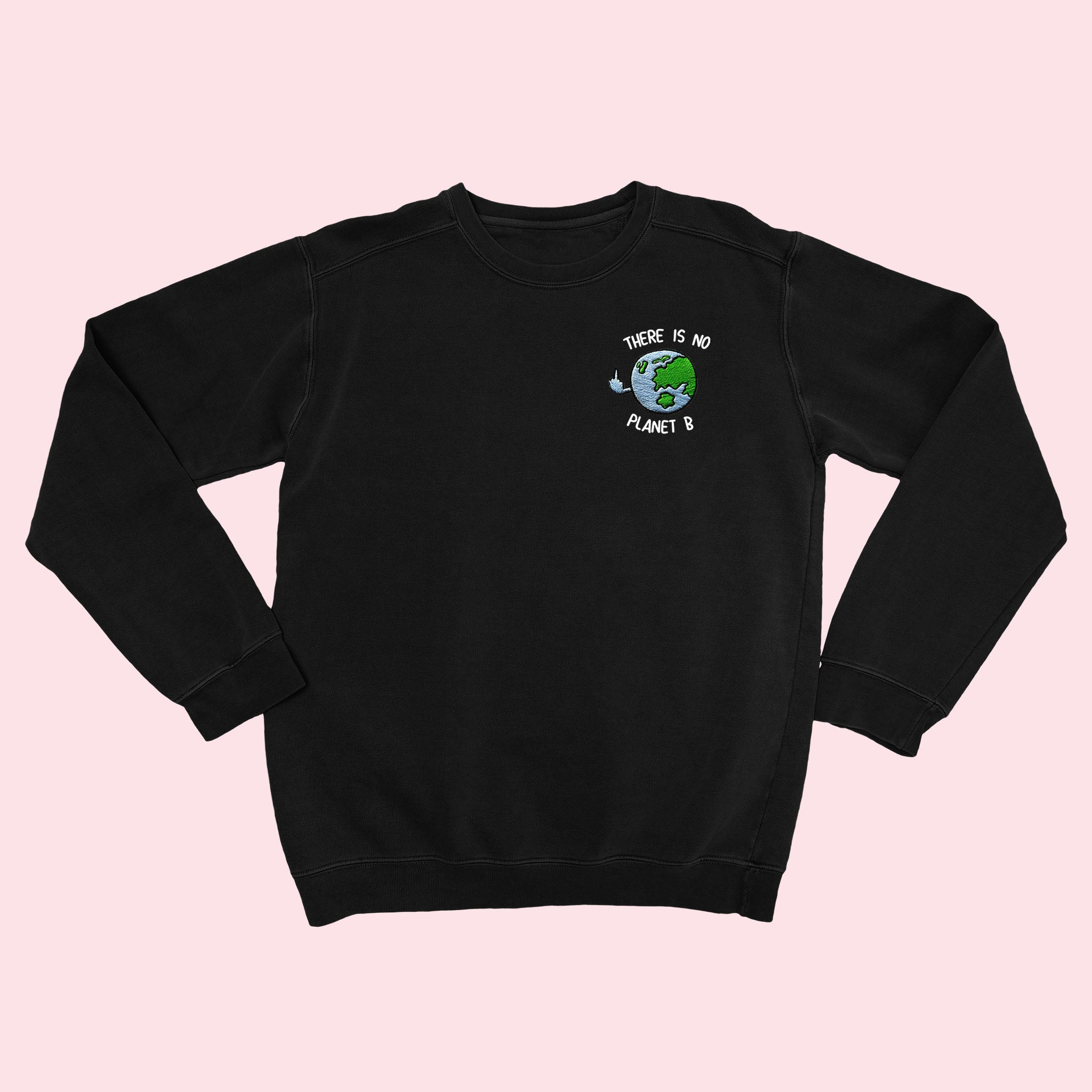 PLANET B- Organic Embroidered Sweater