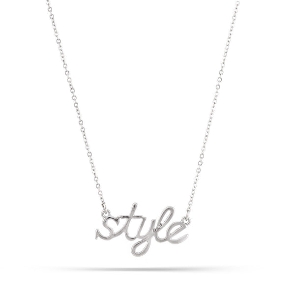 Rhodium Style Necklaces Gift For Her