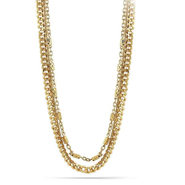 Anitique Gold-Tone Necklace