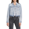 Brando Crop Fitted Denim Jacket