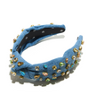Denim Candy Knotted Headband