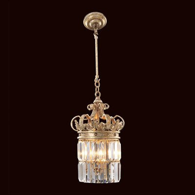 Allegri by KALCO Lighting 11645-029-FR001 Soriano 3-Light Mini Pendant
