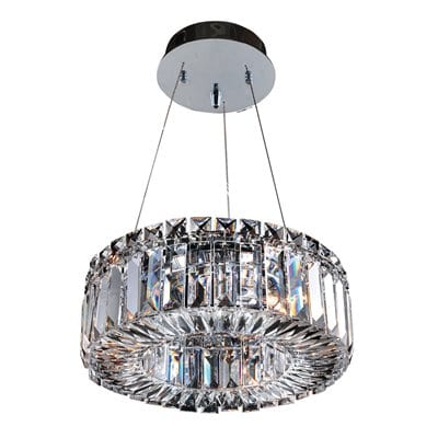 Allegri by KALCO Lighting 11702-010-FR001 Rondelle 12-in Mini Pendant