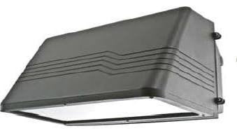Neptun Light 21100FCT 100 Watt 100W 90 Degree Full Cut-Off Type Wall Pack Induction Light Fixture - 10 Year Warranty