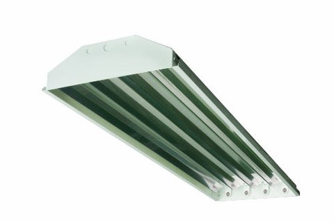 "Neptun Light 17050-PC 50 Watt 50W 16"" High Low Bay Induction Fixture with Polycarbonate Reflector - 10 Year Warranty"