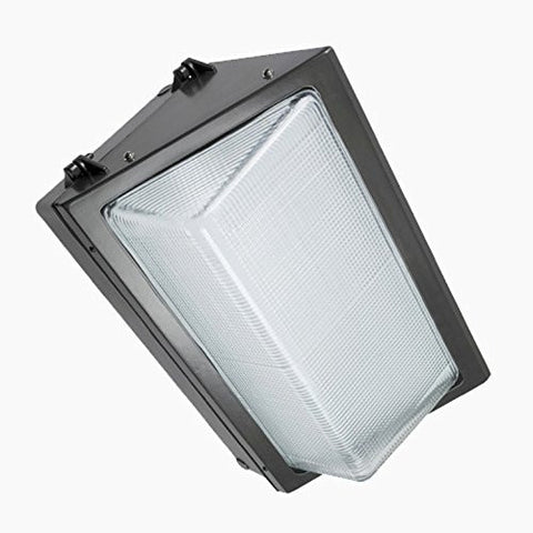 Paclights FWP100 100 Watt LED Wallpack Light Fixture 5700K DLC Listed