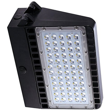 Paclights F2WP120 120 Watt LED Full Cutoff Wallpack Light Fixture 5000K DLC Listed