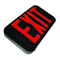 US Energy Sciences EX1-01XUP-R-1B Universal LED Exit Sign Red Letters Includes Emergency Back-up Battery