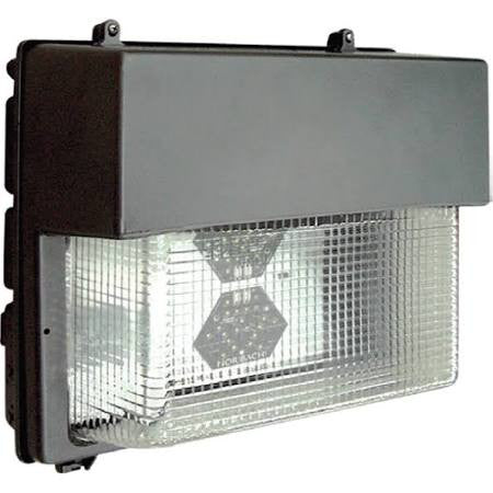 Noribachi HEX-063-B-CW-MT-WPL 95 Watt LED Wallpack L Series Light Fixture with 63 LED's 5700K