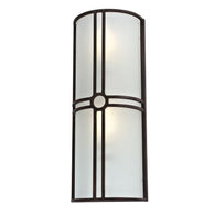 Sunpark MDF075PG-213, 26W 26 W Wall Sconce, 2700K, Oil Rubbed Bronze Finish, Energy Star