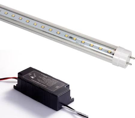 ATG Electronics DLC T8ED12L340C016E iBright T8 LED Tube 4 Ft 16 Watt 4000 or 5000 Kelvin 1600 Lumen HFL-80004-12060C-16