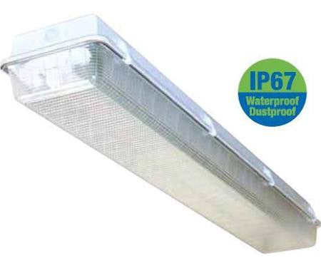 ILP Amazon VT 4 Ft 4' T8 Fluorescent Vapor Tight Light Fixture