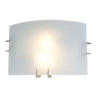Sunpark W260-213, 26W 26 W Wall Sconce, Satin Nickel Finish