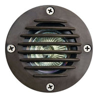 Dabmar Lighting FG317-BZ In Ground Well Light with Grill