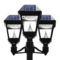 Gama Sonic GS-97NT Imperial II Solar Lamp Light (Triple Head with pole)