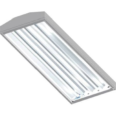 1st Source Lighting VT-T5-4-6-POOL 6 Lamp 4FT T5HO Vaportite Pool Natorium Rated 340W 340 Watt Light Fixture