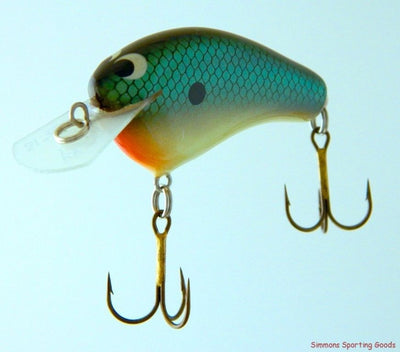 ZOOM BAIT COMPANY WEC HICKY CRANKBAIT GREEN CARD