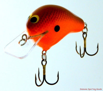 ZOOM BAIT COMPANY WEC E-I CRANKBAIT HOT ORANGE MESH
