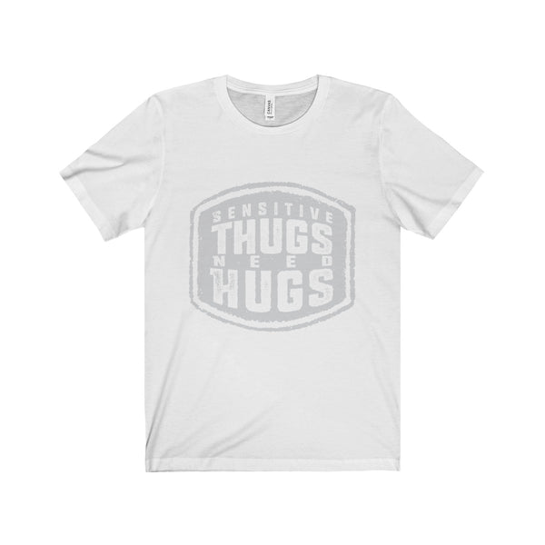 Sensitive Thugs Unisex Jersey Short Sleeve Tee - SoREALa