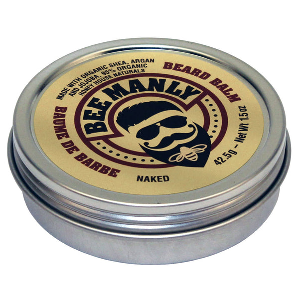 Organic Bee Manly Beard Balm - SoREALa