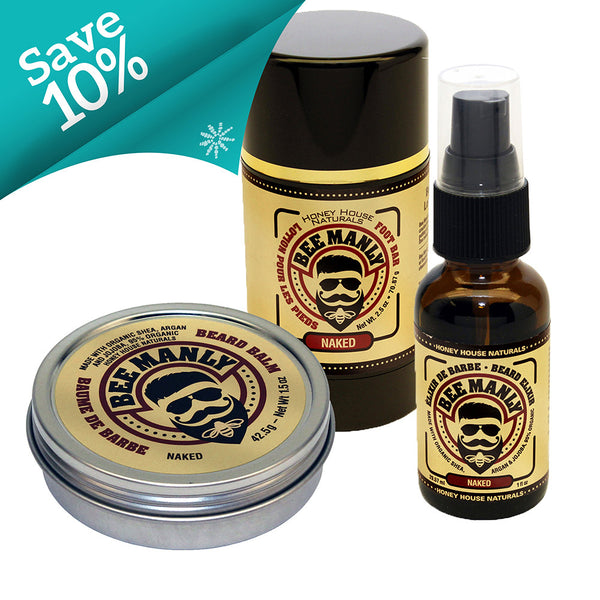 The Man Bundle Bee Manly Naked Trio - SoREALa
