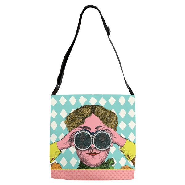 I See You Everything Bag with Adjustable Strap - SoREALa